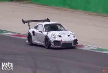 Spyshots Porsche 911 GT2 RS en version piste
