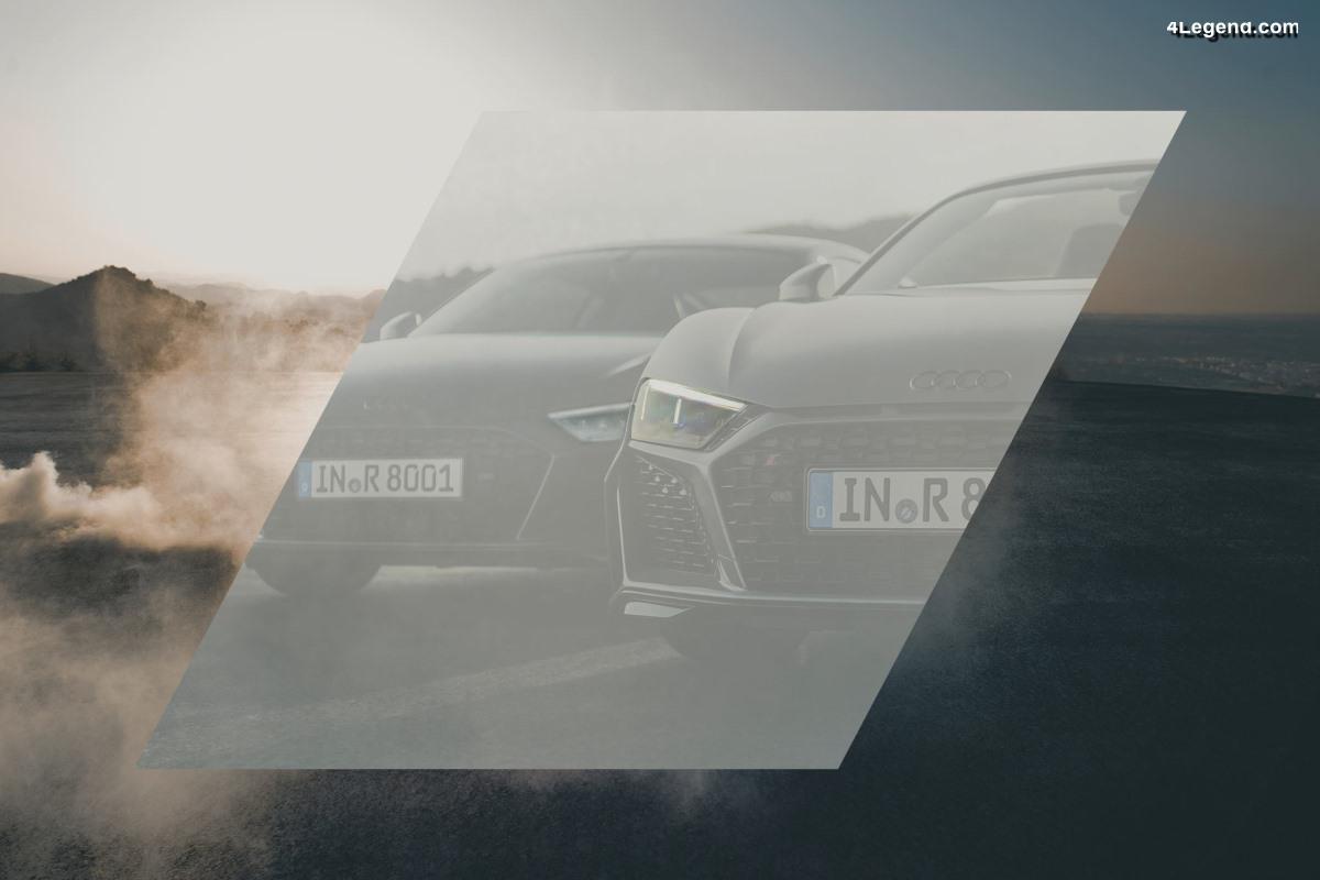 Audi dévoile en partie sa nouvelle Audi R8 V10 restylée