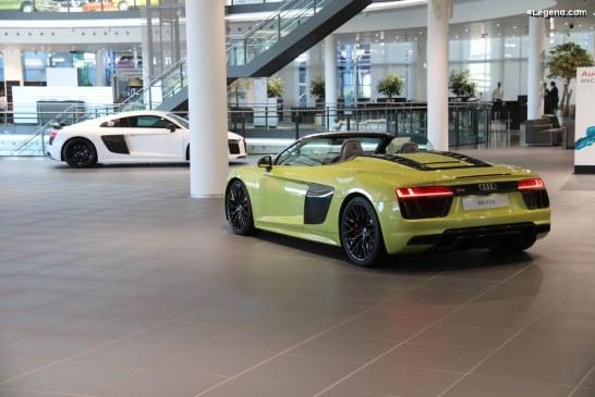 Anecdote – 40 km d'essai pour chaque Audi R8 sortie de chaîne