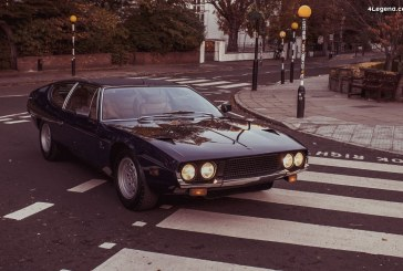 Lamborghini célèbre le 50e anniversaire de son Espada à Londres