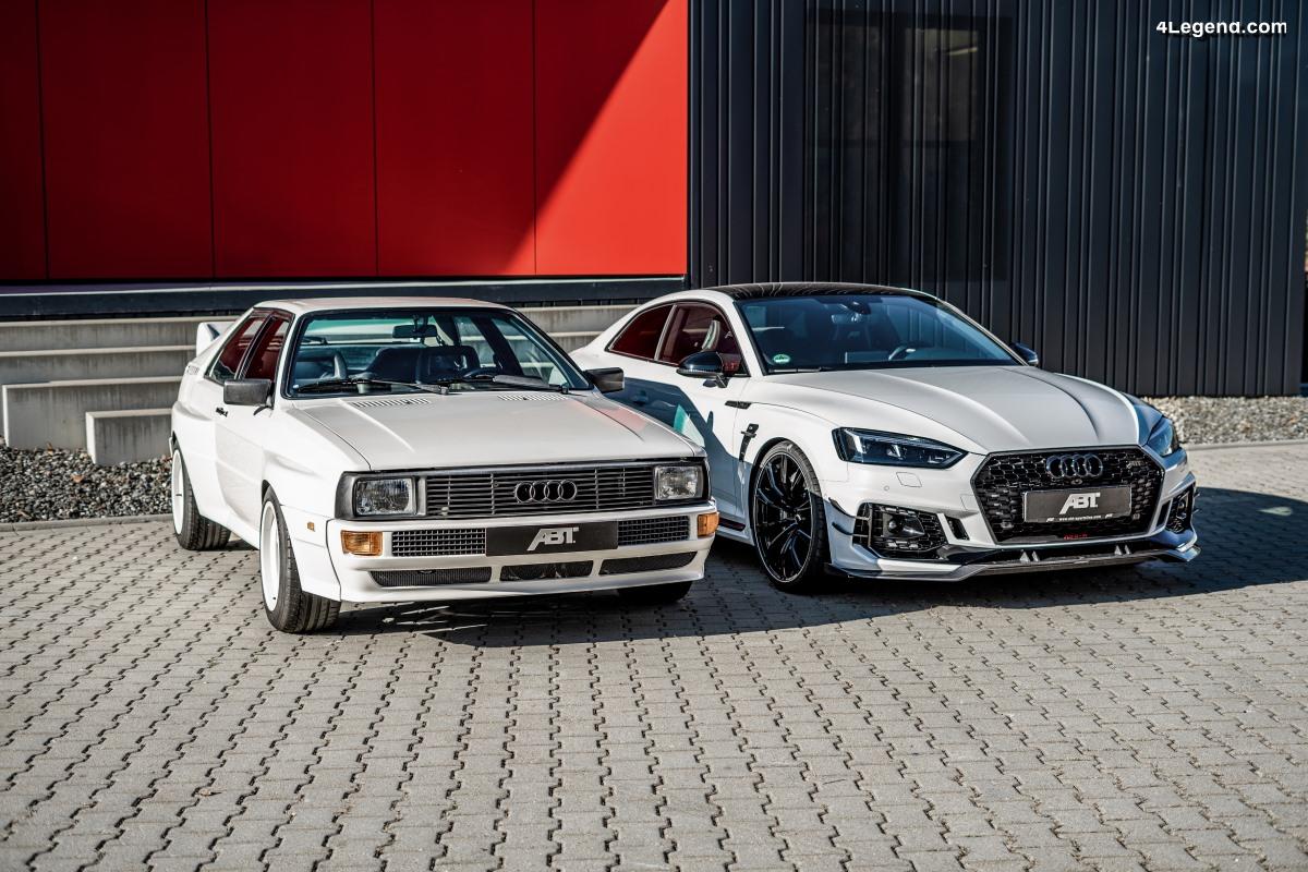 ABT quattro vs ABT RS5-R - Choc de générations d'Audi sportives