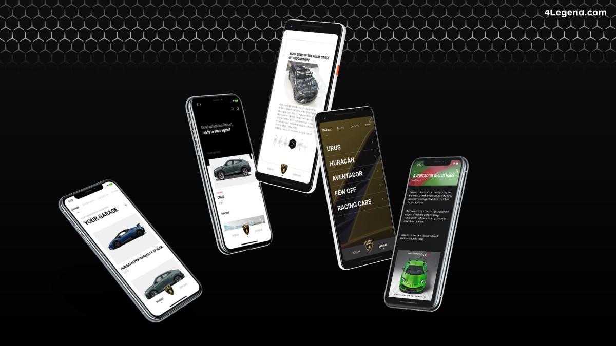 Lamborghini Unica : une application offrant une nouvelle expérience client