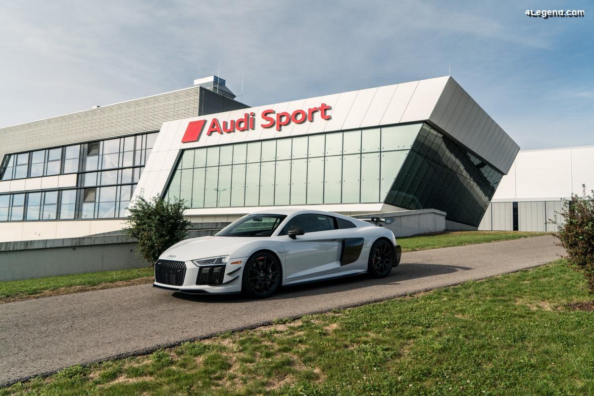 Audi R8 V10 plus Coupe Competition package - Limité à 10 modèles pour les USA