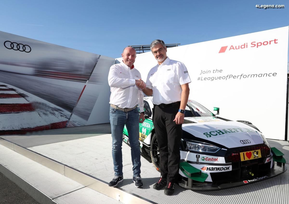 WRT devient une équipe client d'Audi en DTM