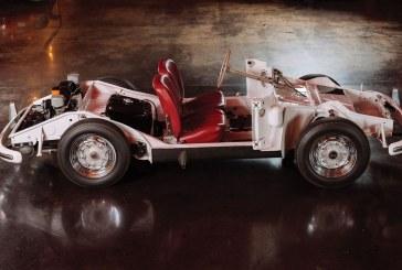 Châssis de formation de Porsche 356 A de 1956