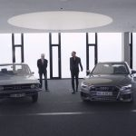 Audi 100 C1 vs Audi A6 C8 : confrontation des designers respectifs
