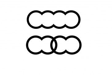 Audi dépose de nouveaux logos dérivés des 4 anneaux