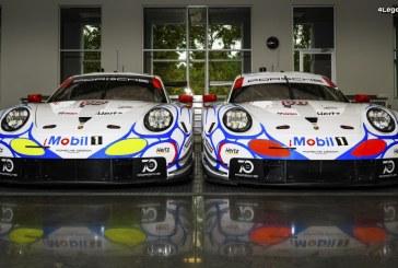 Des Porsche 911 RSR aux couleurs des 911 GT1 à Road Atlanta