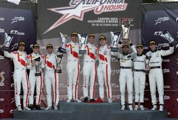 Un doublé aux 8 Heures de Californie et un 3ème titre de constructeur pour Audi à l'Intercontinental GT Challenge
