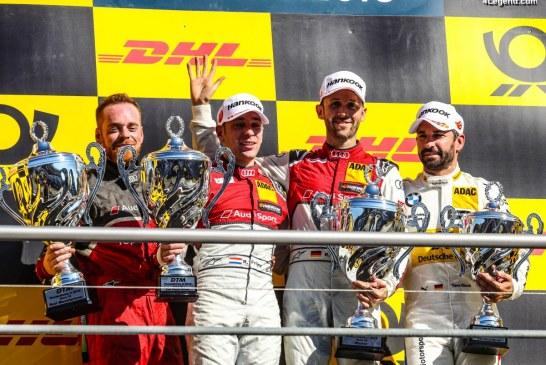 DTM – 5ème victoire d'affilée pour le pilote Audi René Rast à Hockenheim