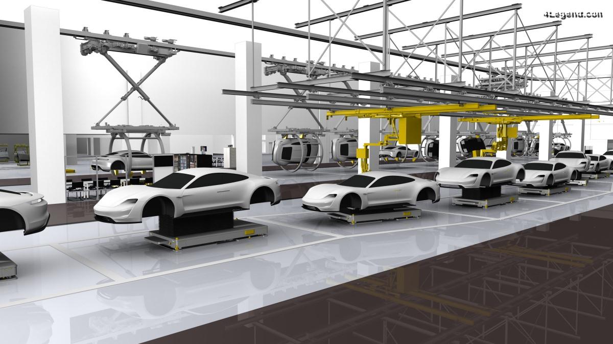 Porsche entre définitivement dans l'ère électrique avec le nouveau Taycan
