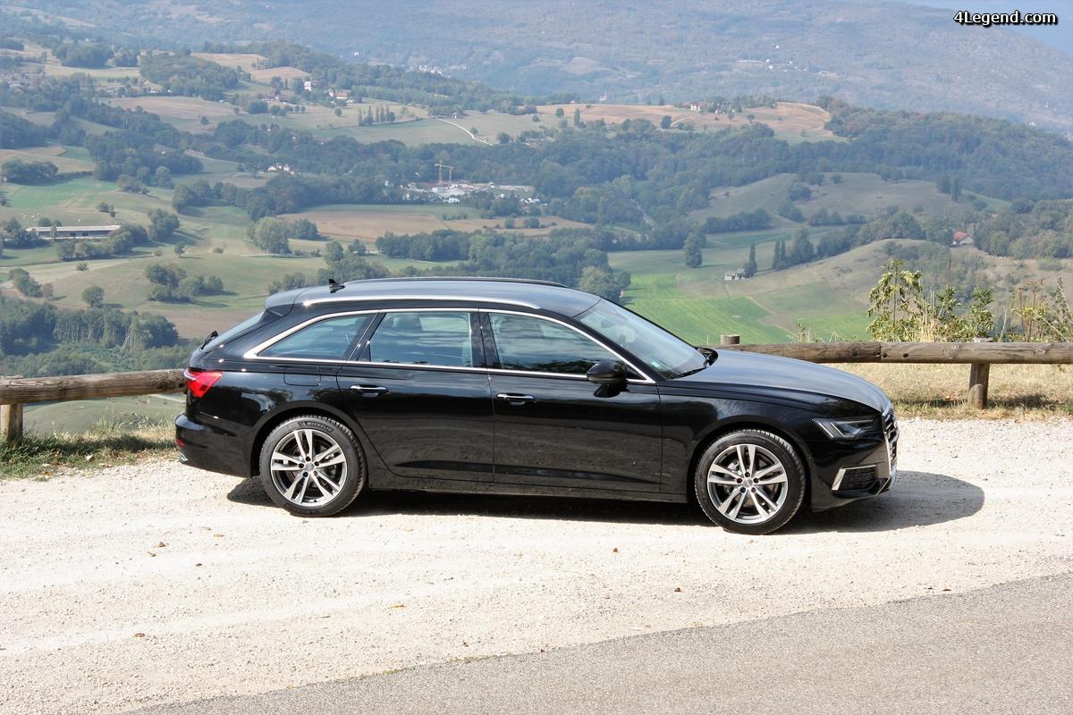 Essai Audi A6 Avant 204 chevaux, le 4 cylindres qui a du souffle