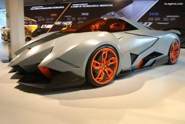 Lamborghini Egoista de 2013 – Un concept car inspiré d'un avion de chasse