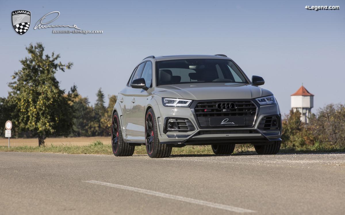 Lumma CLR 5S - L'Audi SQ5 par Lumma-Design