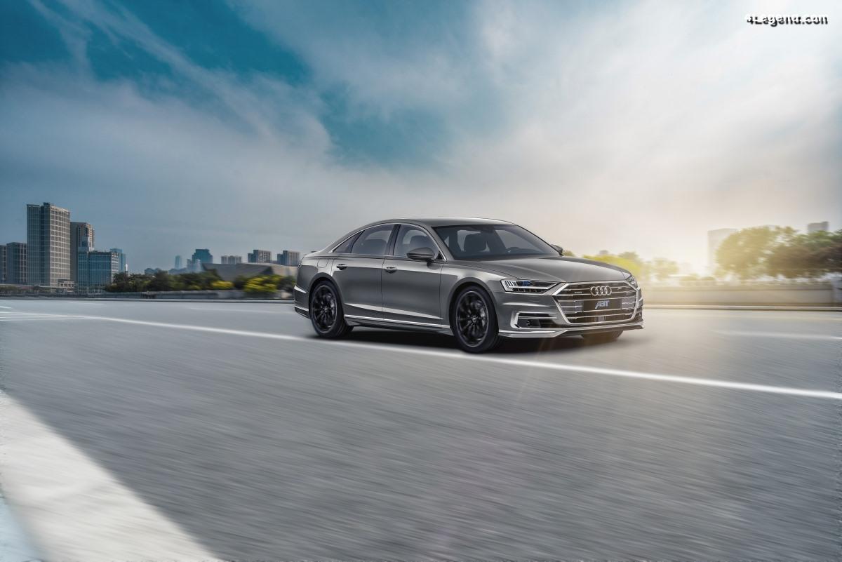 Un pack aérodynamique sportif ABT pour l'Audi A8