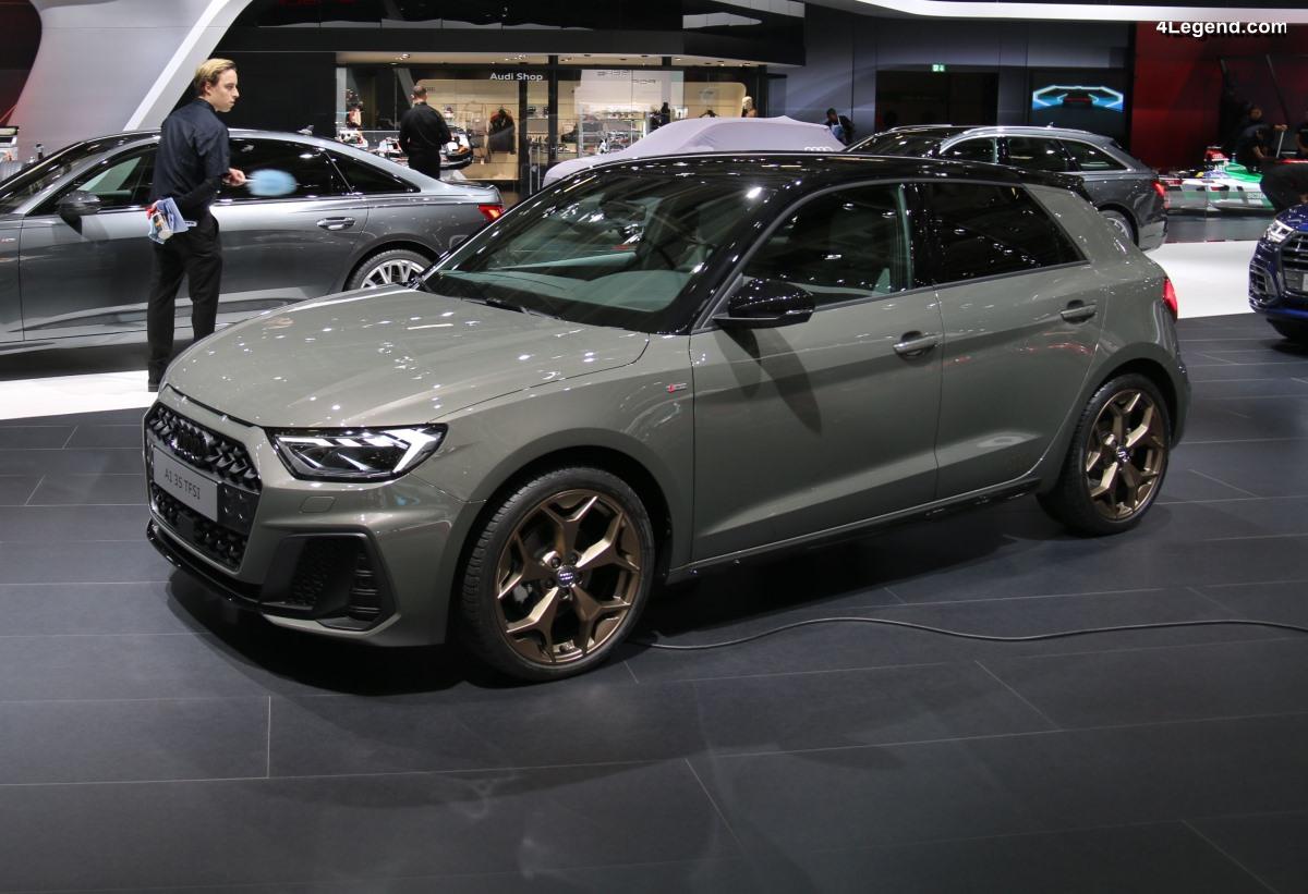 Paris 2018 - Audi A1 : finition en baisse mais gain en technologies