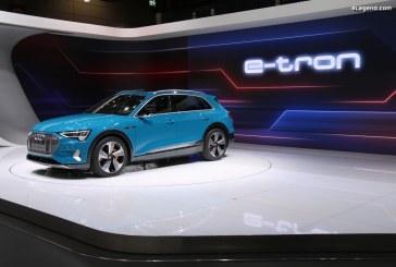 Paris 2018 – Premier contact avec l'Audi e-tron 55 quattro