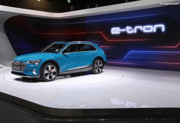 Tarifs & ouverture des commandes de l'Audi e-tron en France