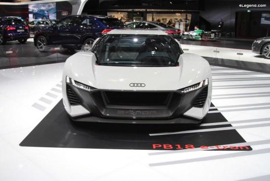 Lancement en série limitée de l'Audi PB18 e-tron à 50 exemplaires
