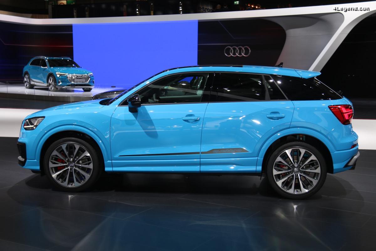 Paris 2018 - Première mondiale discrète de l'Audi SQ2