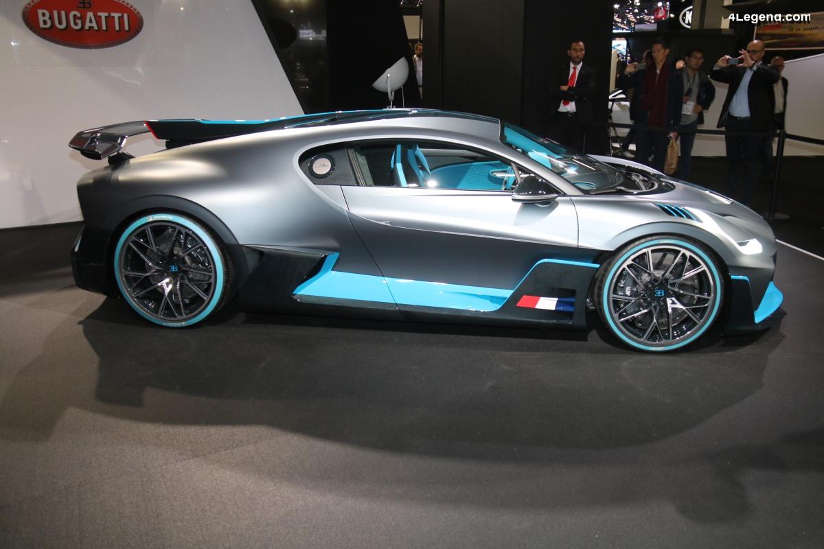 Paris 2018 - Présentation surprise de la Bugatti Divo