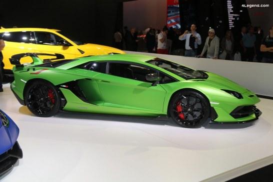 Automobili Lamborghini a battu un nouveau record : 5 750 voitures livrées en 2018