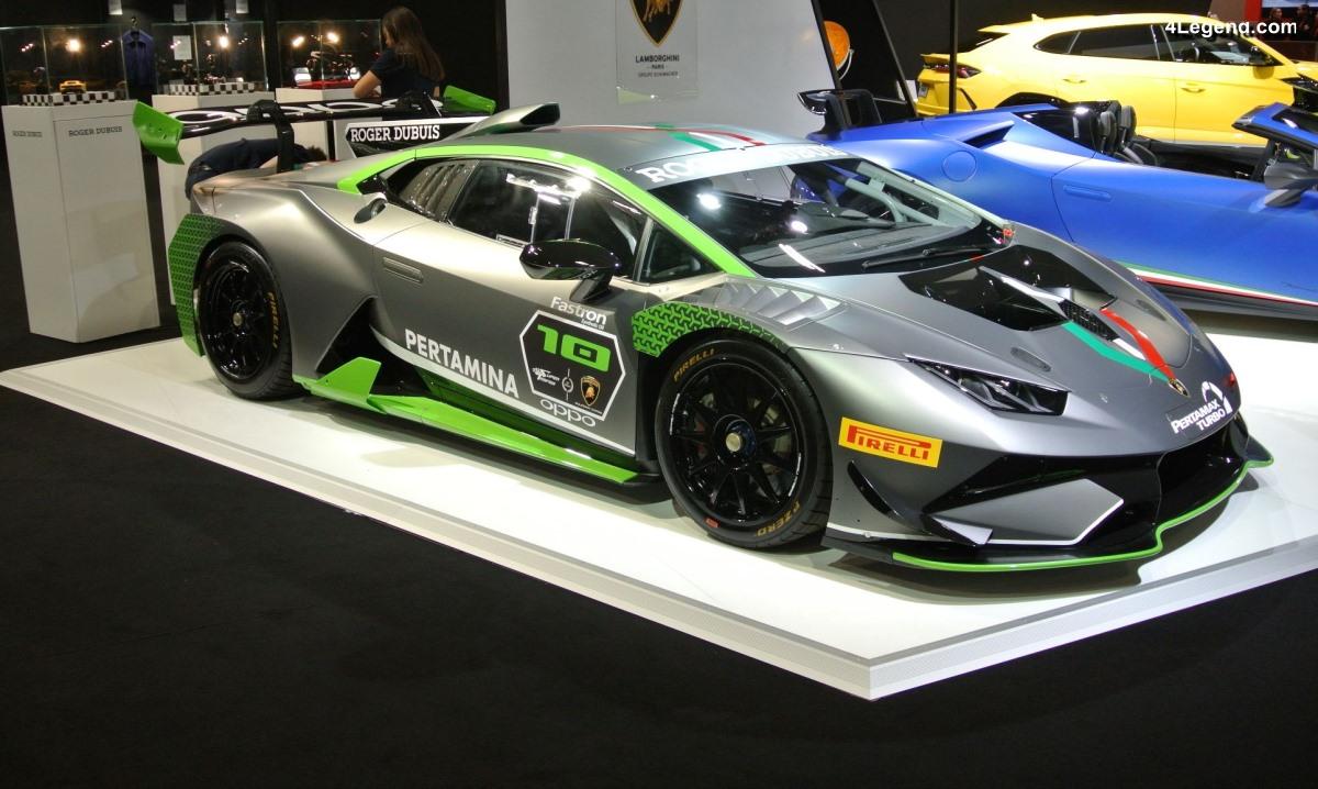 Paris 2018 - Lamborghini Huracán Super Trofeo Evo 10th Edition