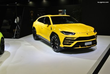 Paris 2018 – Le Lamborghini Urus fait sensation