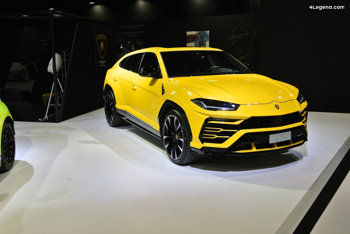 Paris 2018 - Le Lamborghini Urus fait sensation