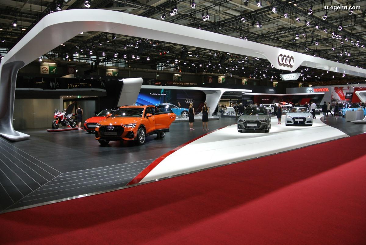 Paris 2018 - Le plein de nouveautés sur le stand Audi