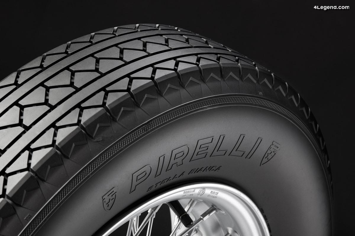 Pirelli Stella Bianca - Renaissance d'un pneu révolutionnaire à plis croisés