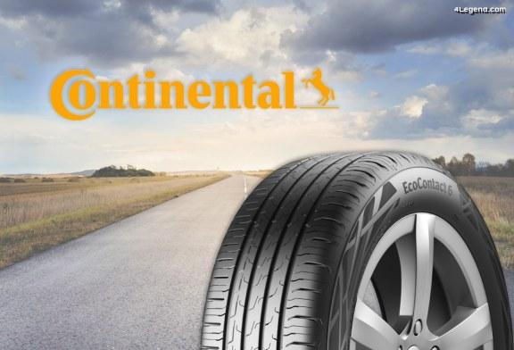 Lancement du pneu Continental EcoContact 6