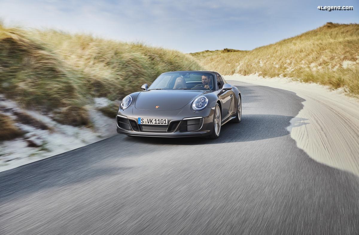 Porsche 911 Targa 4 GTS Exclusive Manufaktur Edition - Série limitée de 300 exemplaires