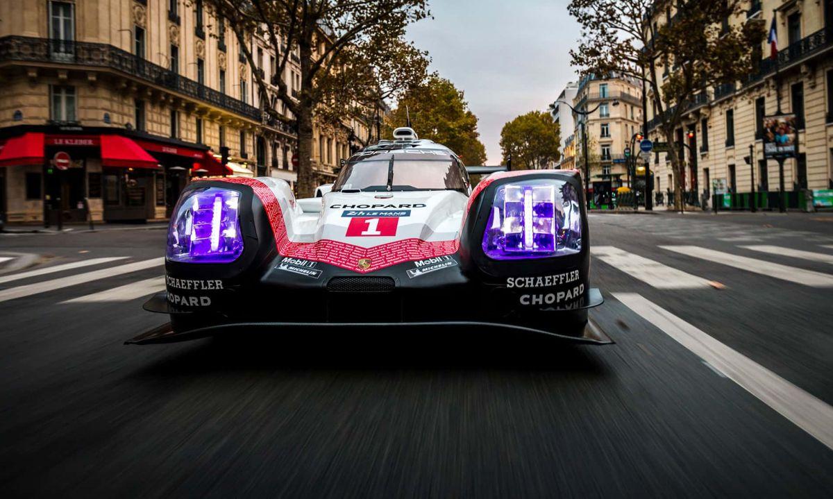 Porsche 919 Tribute Tour à Paris