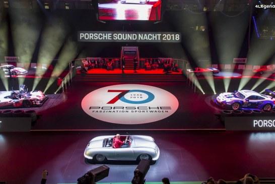 Porsche Sound Nacht 2018 à la Porsche Arena