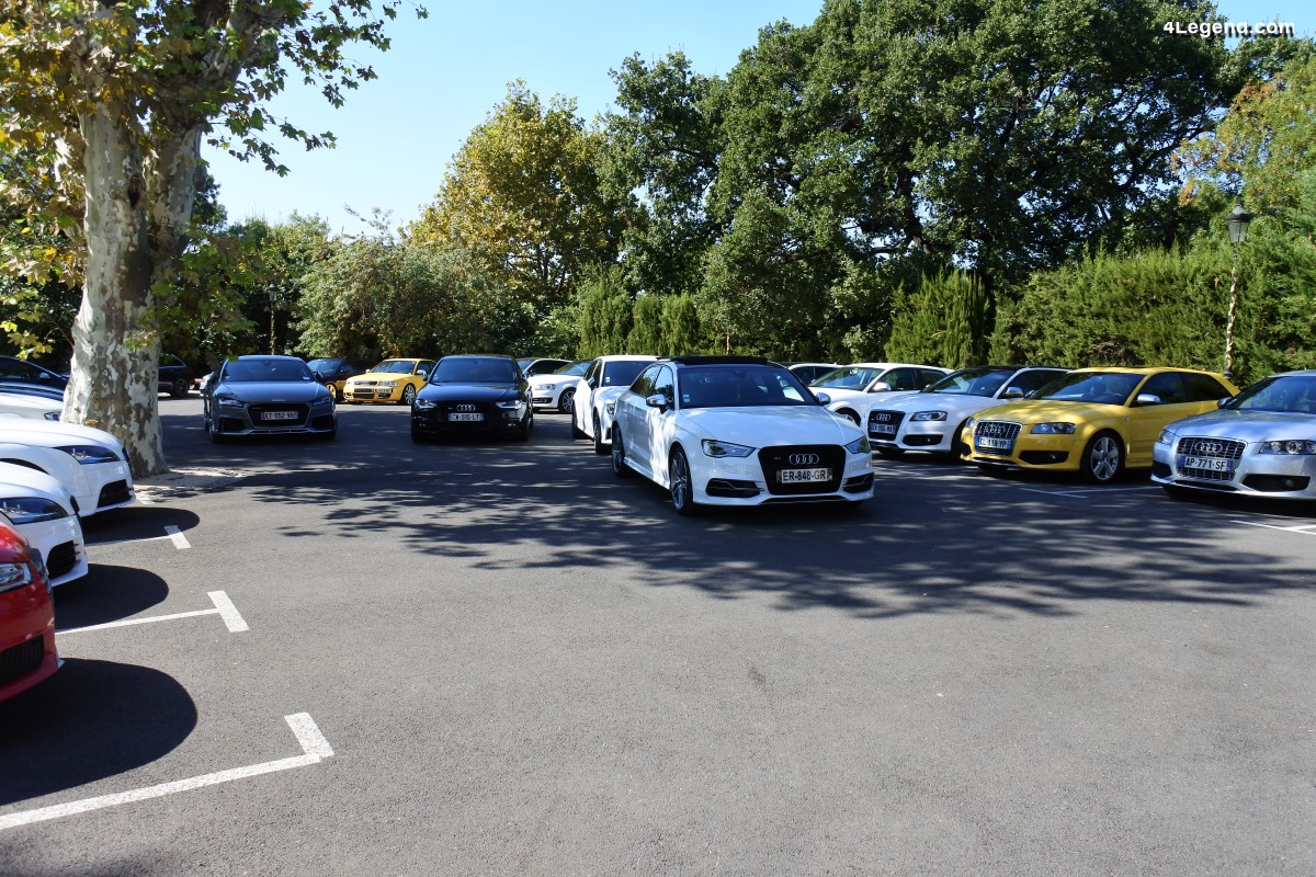 Rassemblement Audi S/RS à St Victoret dans les Bouches-du-Rhône