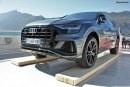 Soirée de lancement de l'Audi Q8, le SUV prend le bateau