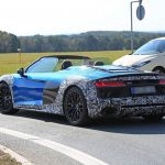 Spyshots Audi R8 Spyder V10 Plus facelift 2019