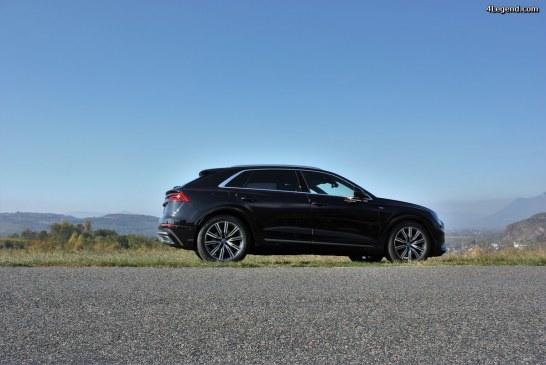 Test drive: Audi Q8, le SUV au look sportif