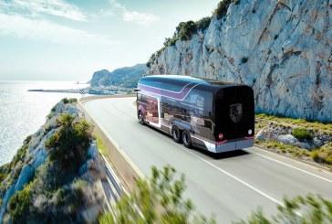 VW Renntransporter – Une vision d'un camion transportant des Porsche 935 de course