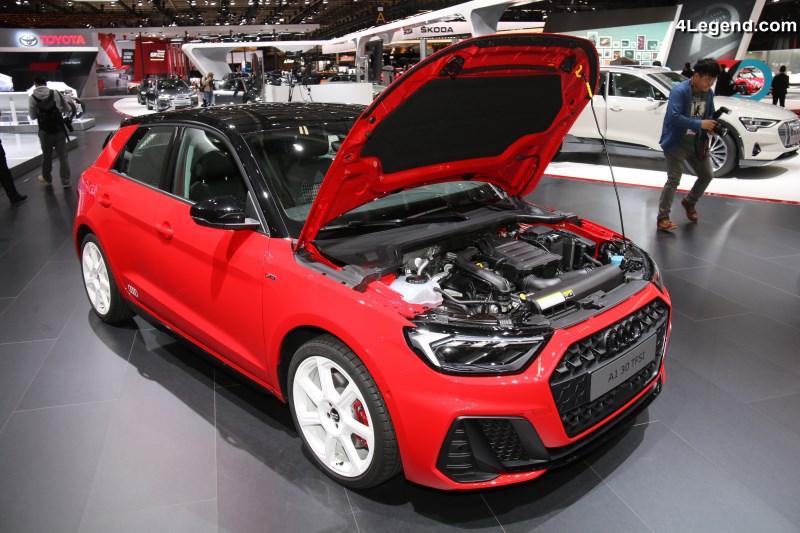 Paris 2018 Audi A1 Finition En Baisse Mais Gain En Technologies