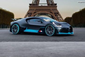 Bugatti célèbre la première européenne de la Divo à Paris