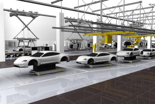 La Porsche Taycan victime de son succès avant sa présentation