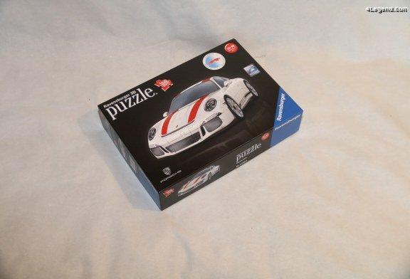 Montage du puzzle 3D de la Porsche 911 R de Ravensburger