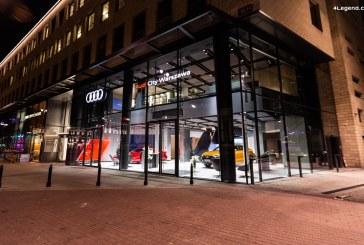 Ouverture d'un nouvel Audi City à Varsovie