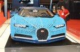 Paris 2018 – Bugatti Chiron construite en LEGO à l'échelle 1:1