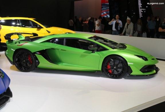 Paris 2018 – Lamborghini Aventador SVJ Coupé de 770 ch