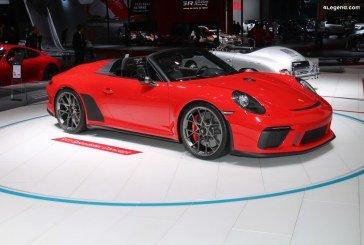 Paris 2018 – Porsche 911 Speedster Concept 2 – 356 Speedster – 911 Speedster Type G