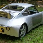 Une Porsche 912 motorisée par un moteur V8 L92 de Cadillac Escalade
