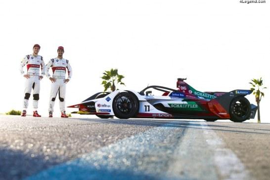 Audi dévoile l'e-tron FE05 pour la nouvelle saison de Formula E